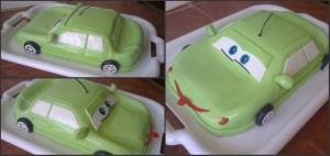 Торт машинка для хлопчика