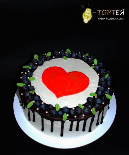 Торт для коханої без мастики