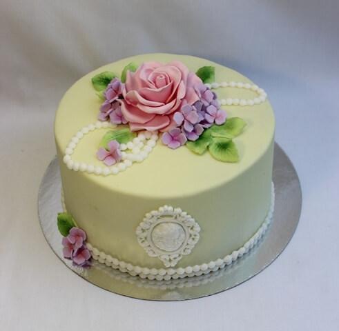 Торт для мами квіти