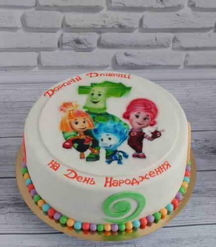 Торт фіксики