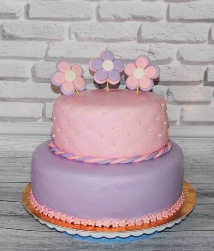 Торт квіточка