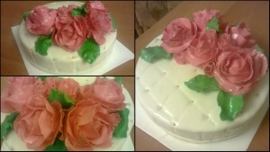 Замовити красивий весільний торт
