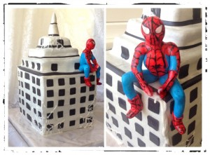 Торт для хлопчика людина павук