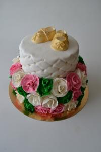 Торт на день народження для дівчинки