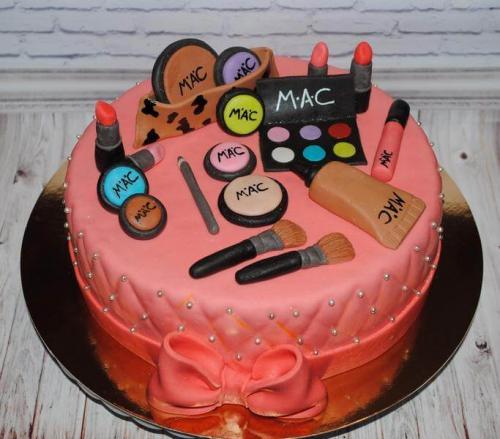 Торт для мами косметика