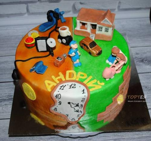 Торт на день народження програміста