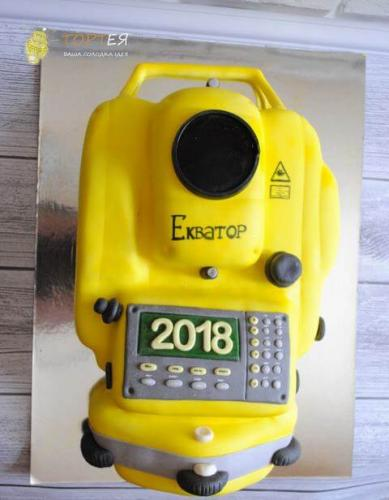Торт на екватор для студентів геодезистів