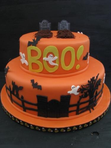Торт на хелловін - БУ