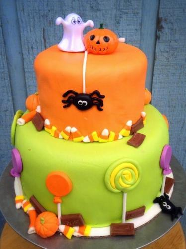 Невеликий торт на хелловін