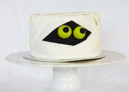 Торт на хелловін - мумія