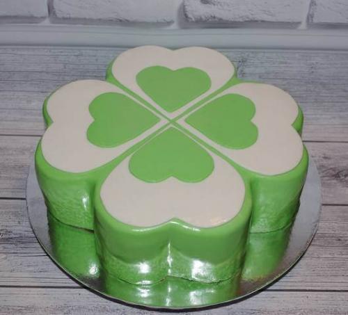 Торт на корпоратив (Зелений)