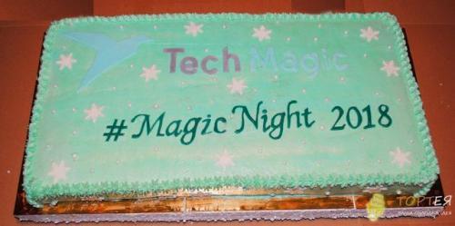 Торт на корпоратив Tech Magic
