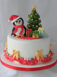 Новорічний торт пінгвін
