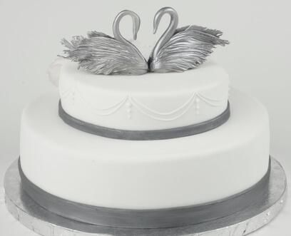 Торт на річницю весілля -  25 років