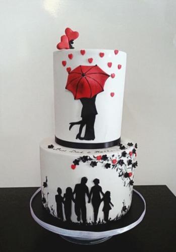 Торт на річницю весілля - Зустріч