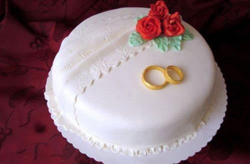 Торт на річницю весілля