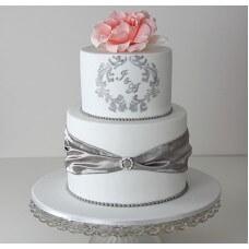 Тортик на 25 річницю весілля