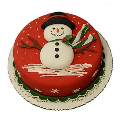 Торт - Сніговик