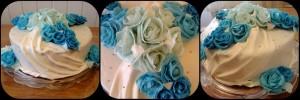 Торт квіти