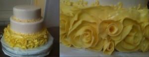 Торт троянди