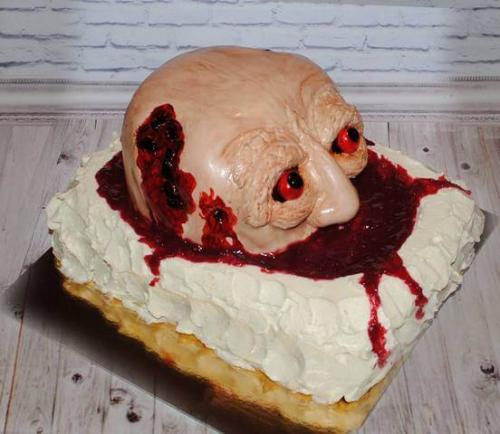 Торт зомбі на хелловін