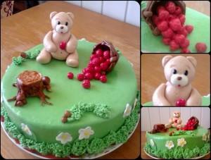 ведмедик торт