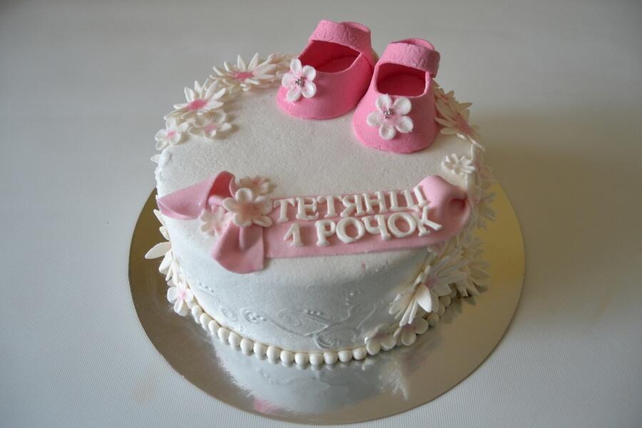 Торт для дівчинки на 1 рочок