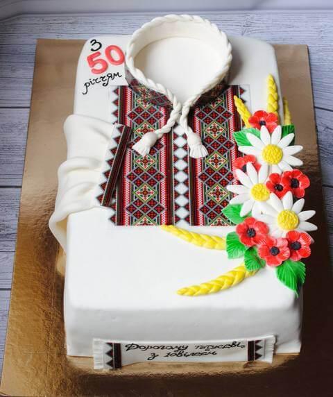 Торт на 40 років